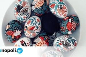 Έργα Τέχνης ζωγραφισμένα σε πασχαλινά αυγά
