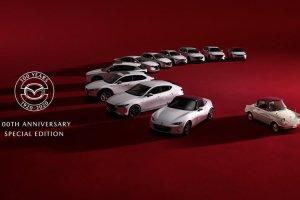Επετειακές εκδόσεις για τα 100 χρόνια της Mazda