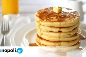 Στην κουζίνα με τα παιδιά #2: Pancakes - Monopoli.gr