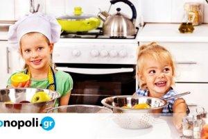 Στην κουζίνα με τα παιδιά#9: Πορτοκαλόπιτα - Monopoli.gr