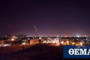 Συρία: Αντιαεροπορικά κατέρριψαν ισραηλινούς πυραύλους πάνω από την Παλμύρα