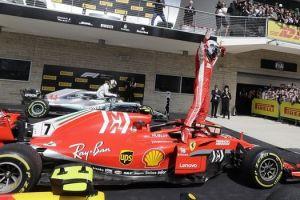 Η Ferrari έστειλε δώρο στον Ράικονεν το παλιό του μονοθέσιο