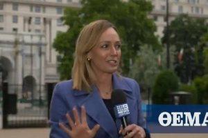 Αυστραλή ρεπόρτερ δέχτηκε επίθεση on air ενώ κάλυπτε συγκεντρώσεις διαμαρτυρίας στο Λονδίνο