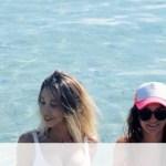 Influencers ανέβασαν φωτογραφία στη θάλασσα - «Πάγωσαν» μόλις είδαν τι ήταν πίσω τους (photos+video)