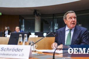 Γερμανία: Ο Σρέντερ εμφανίστηκε στη Βουλή ως λομπίστας του Κρεμλίνου
