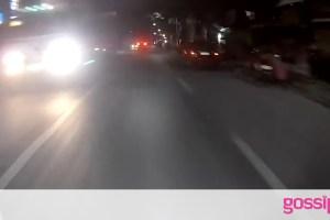 Ντελιβεράς κυνήγησε οδηγό που χτύπησε και άφησε ποδηλάτη (video)
