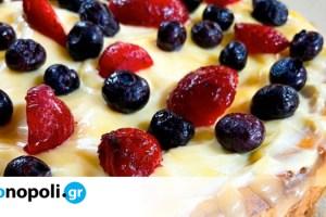 Cheesecake λεμόνι από το blog Foodaholic