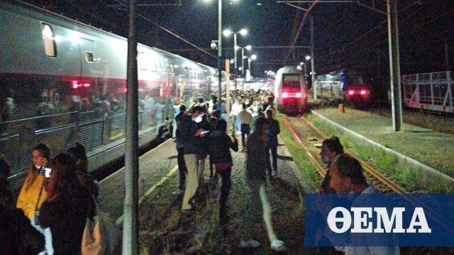 Γαλλία: Εφιαλτικό σαββατοκύριακο για χιλιάδες ταξιδιώτες - Παρέλυσαν τρένα λόγω προβλημάτων ηλεκτροδότησης