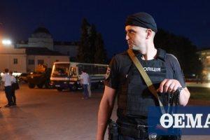 Κίεβο: Άνδρας απειλεί να ανατινάξει με βόμβα τράπεζα σε κέντρο επιχειρήσεων