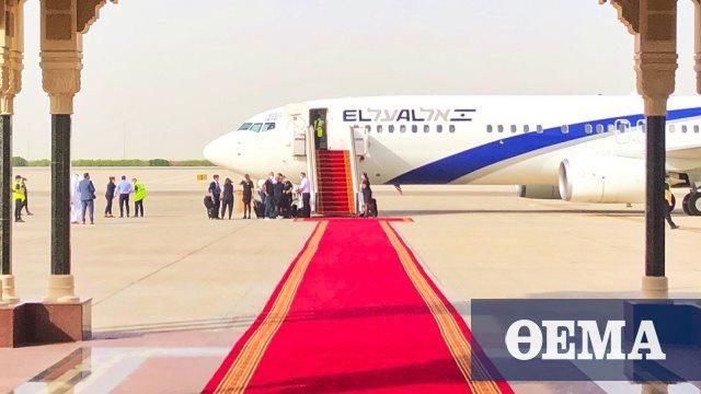 Έγραψε ιστορία η πρώτη επίσημη πτήση από το Τελ Αβίβ στο Αμπού Ντάμπι