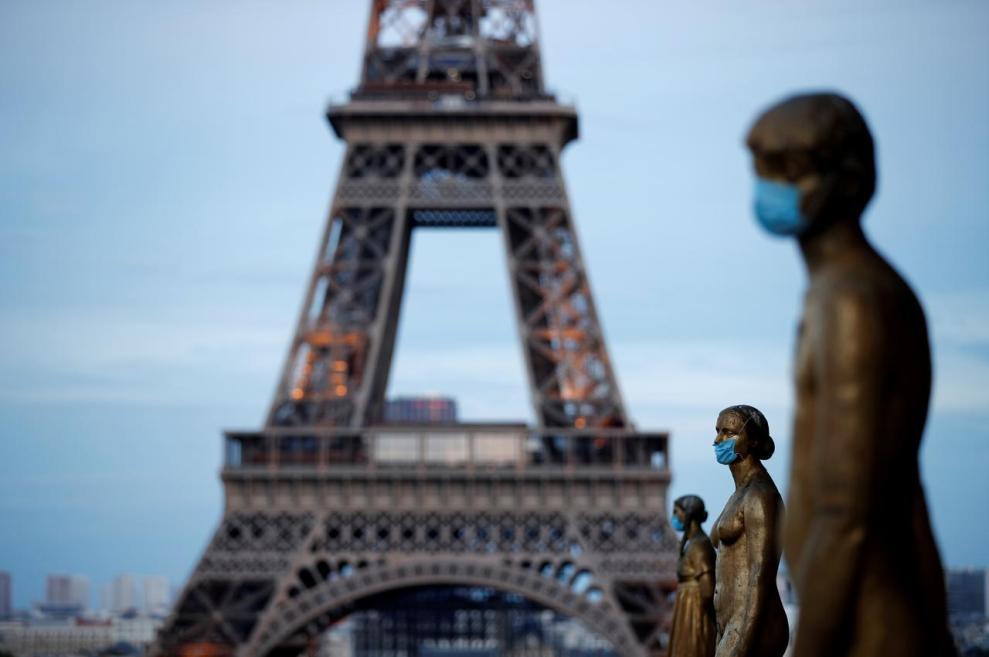 Γαλλία : Άλλη μια μέρα με πάνω από 10.000 κρούσματα κορωνοϊού - Ειδήσεις - νέα - Το Βήμα Online