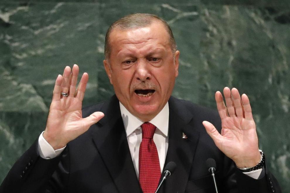 Ερντογάν: Όσοι υψώνουν ανάστημα θα πέσουν με την πρώτη φουρτούνα - Ειδήσεις - νέα - Το Βήμα Online