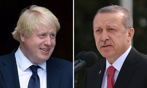 Ερντογάν – Τζόνσον τα είπαν για Αν. Μεσόγειο, Αρμενία