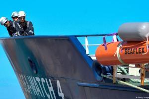 Και πάλι προβλήματα για διασωστικό πλοίο στην Ιταλία | DW | 25.09.2020