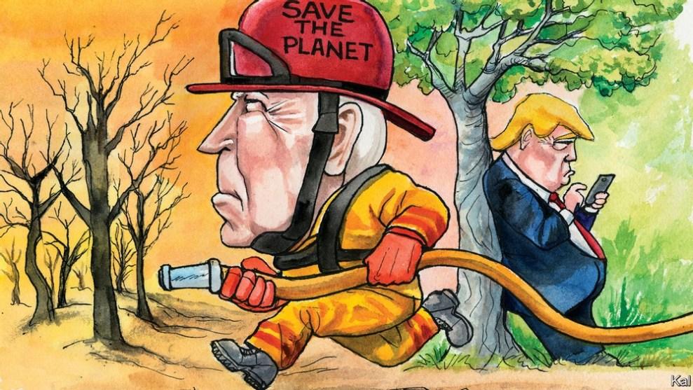 Κλιματική αλλαγή: Ερίζουν Μπάιντεν – Τραμπ - Ειδήσεις - νέα - Το Βήμα Online