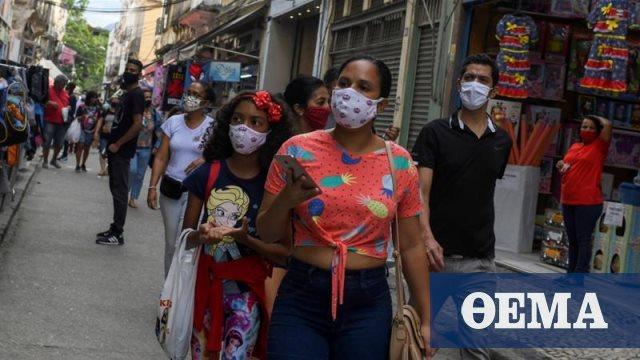 Κορωνοϊός - Βραζιλία: 310 θάνατοι και πάνω από 10.000 κρούσματα το τελευταίο 24ωρο