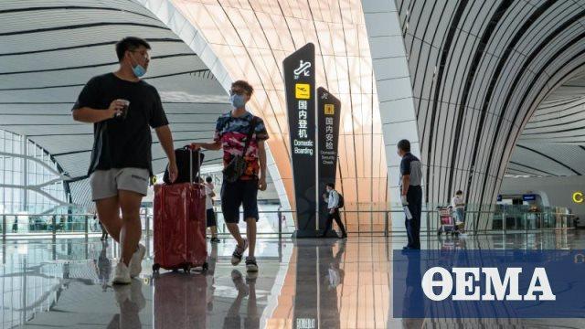 Κορωνοϊός: Δύο νέα, «εισαγόμενα» κρούσματα στην Κίνα