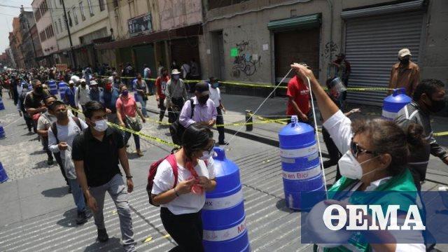 Κορωνοϊός - Μεξικό: Έσπασε το φράγμα των 65.000 θανάτων