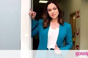 Μπάγια Αντωνοπούλου: Έγινε κουμπάρα! Λαμπερή εμφάνιση με κόκκινο φόρεμα
