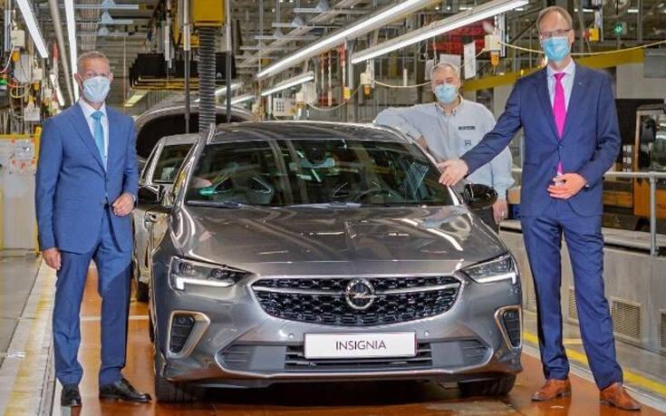 Ξεκίνησε η παραγωγή του νέου Opel Insignia