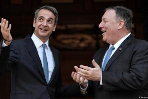 Συμβολικής σημασίας επίσκεψη Πομπέο στην Ελλάδα | DW | 26.09.2020