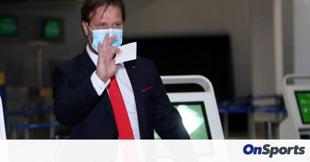 Ολυμπιακός: «Πέταξε» για Πορτογαλία (photos)