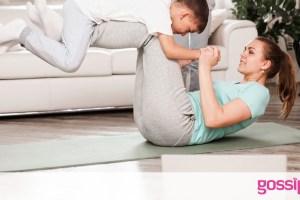 Γυμναστική για μαμάδες: 5λεπτο πρόγραμμα - Χάστε κιλά σε μια εβδομάδα