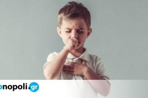 Παιδικός βήχας: Τα είδη του και πότε πρέπει να απευθυνθείτε στον γιατρό