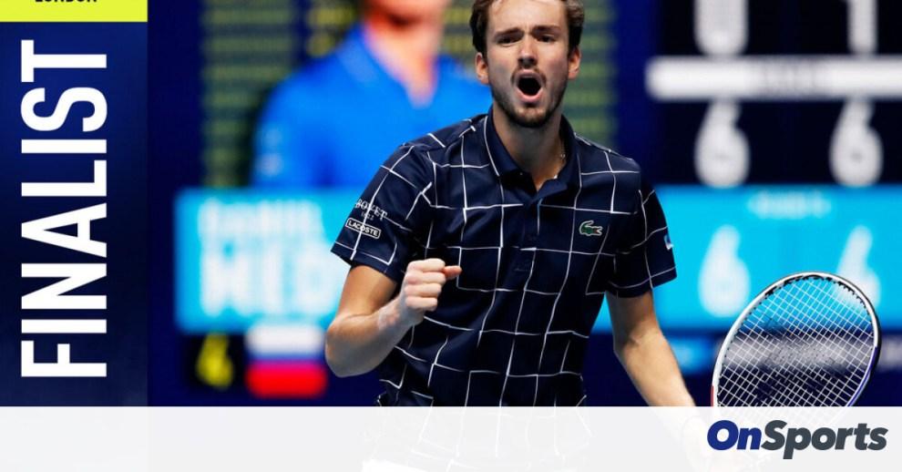 ATP Finals: Στον τελικό ο Μεντβέντεφ, απέκλεισε τον Ναδάλ (video+photos)