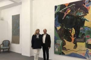 Ο Phil Goss στην Alibi Gallery στο Ψυρρή