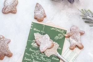 Υγιεινά gingerbread cookies με βρώμη και μελάσα - Shape.gr