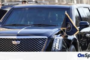 Αυτό είναι το «κτήνος» του Μπάιντεν – Τα χαρακτηριστικά της προεδρικής λιμουζίνας (pics)