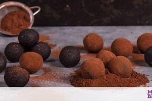 Ενεργειακές μπουκίτσες σοκολάτας έτοιμες σε μόλις 15 λεπτά