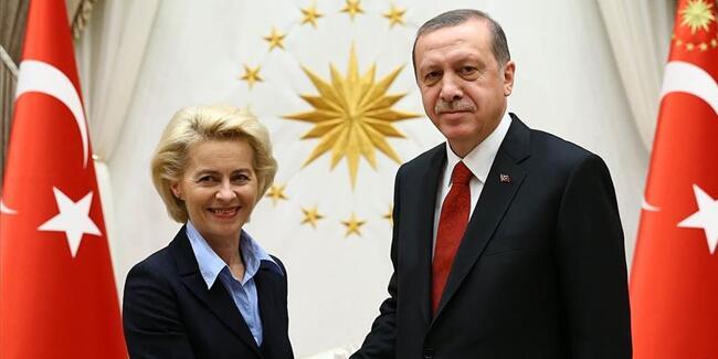 Ολοκληρώθηκε η τηλεδιάσκεψη φον ντερ Λάιεν με Ερντογάν – Τι συζήτησαν
