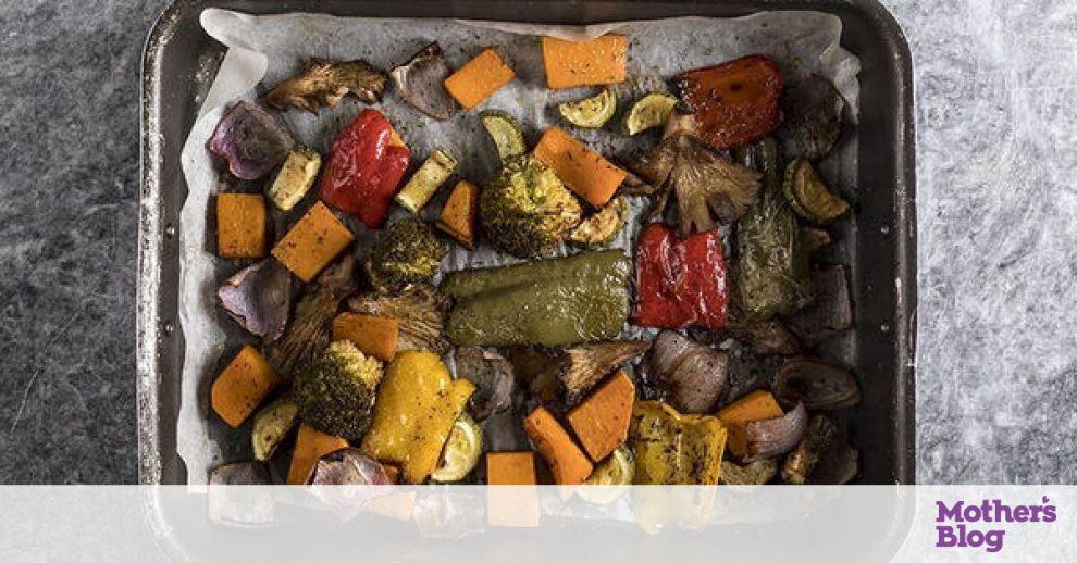 Ψητά λαχανικά στον φούρνο από τον Άκη Πετρετζίκη