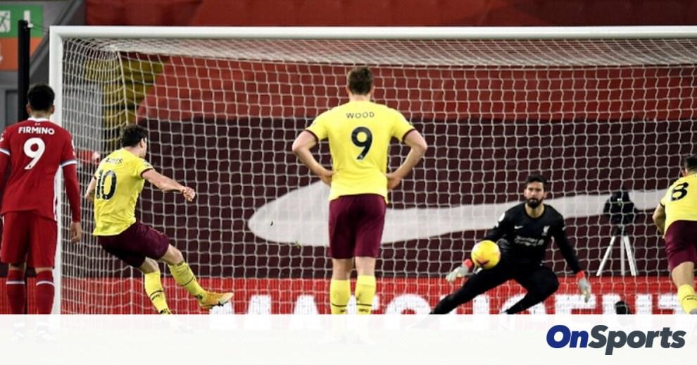 Premier League: Η Μπέρνλι σόκαρε τη Λίβερπουλ μέσα στο «Άνφλιντ»! (Photos+Video)
