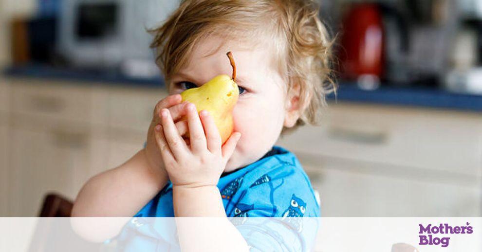 Τα άγνωστα οφέλη του αχλαδιού στην υγεία των παιδιών