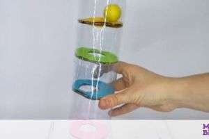 Αυτοσχέδιο παιχνίδι για παιδιά με πλαστικά μπουκάλια και μπάλες