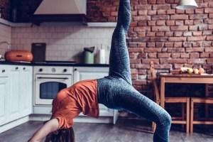Γυμναστική στην κουζίνα