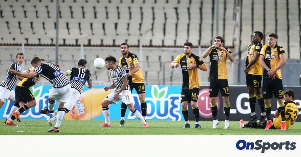 ΑΕΚ-ΠΑΟΚ 0-1: Έτσι απέδρασαν με νίκη και προβάδισμα-πρόκρισης οι Θεσσαλονικείς (video+photos)