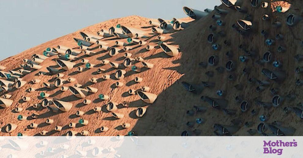 Δες πώς σχεδιάζουν να φτιάξουν την πρώτη πόλη στον Άρη (video)
