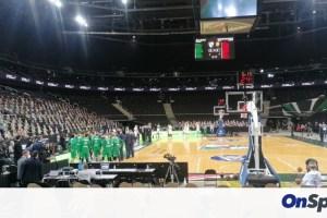 Ζαλγκίρις Κάουνας - Παναθηναϊκός ΟΠΑΠ: Βραβεύτηκε ο Ουάιτ από τους Λιθουανούς (video+photos)