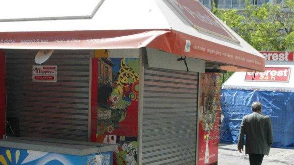 Λουκέτο στο 30% των περιπτέρων στις τουριστικές περιοχές της Αθήνας