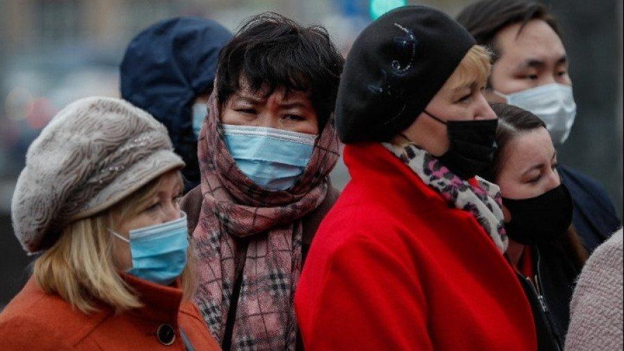 Ρωσία-Κορονοϊός: 374 θάνατοι και 8.294 κρούσματα το τελευταίο 24ωρο