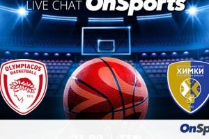 Live Chat Ολυμπιακός-Χίμκι