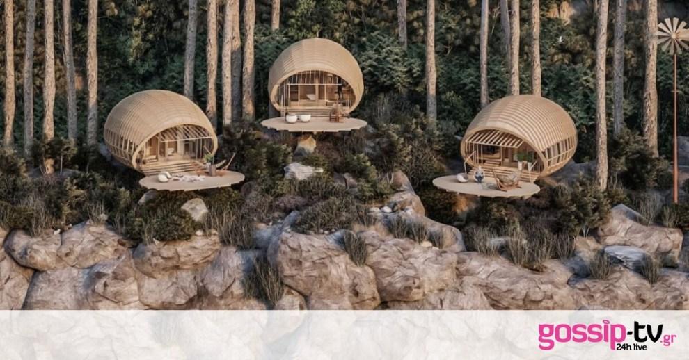 Δες τις υπέροχες ξύλινες καμπίνες που βρίσκονται μέσα σ΄ένα βουνό της Κούβας