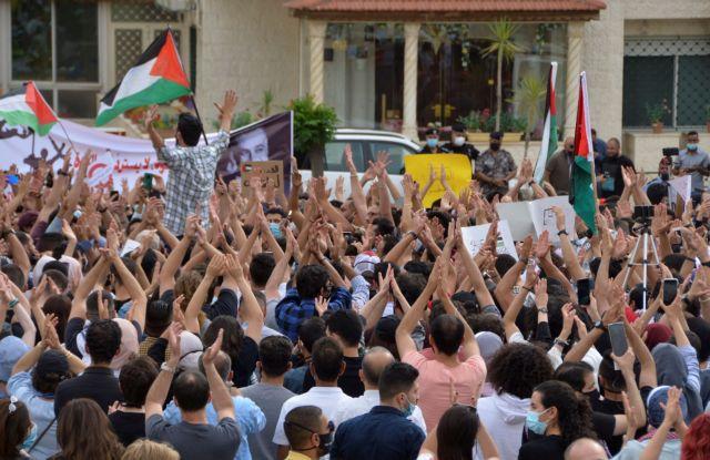 Ιορδανία: Εκατοντάδες διαδηλωτές ζήτησαν το κλείσιμο της ισραηλινής πρεσβείας