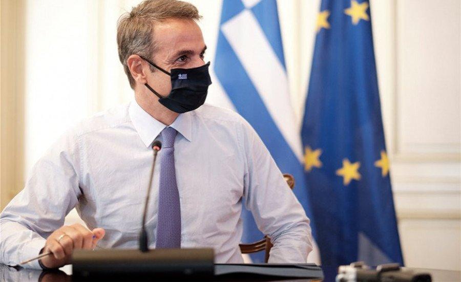 Συναντήσεις με τον πρωθυπουργό της Ισπανίας και τον πρωθυπουργό της Σλοβενίας θα έχει αύριο ο Κυριάκος Μητσοτάκης