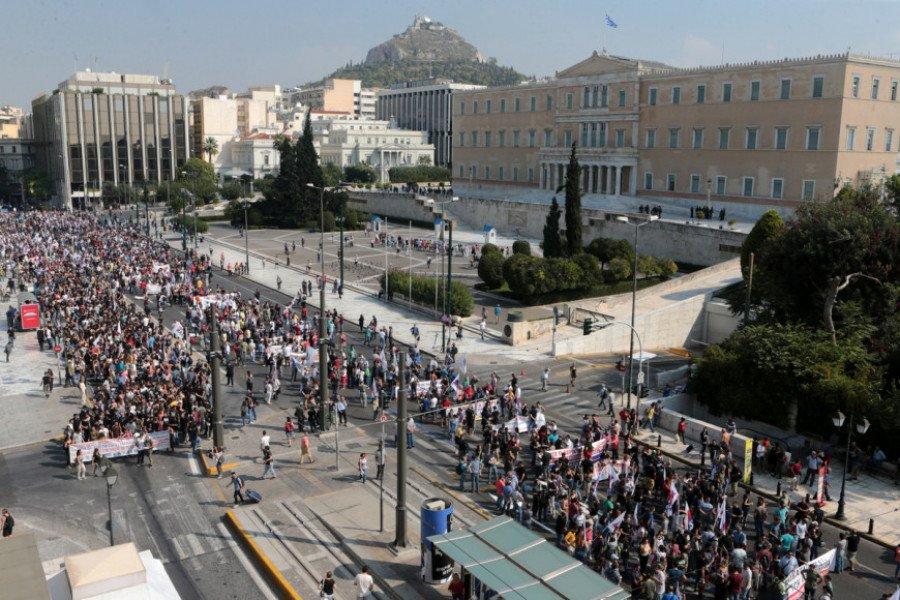 Απεργιακές συγκεντρώσεις σε Αθήνα, Θεσσαλονίκη, Ηράκλειο
