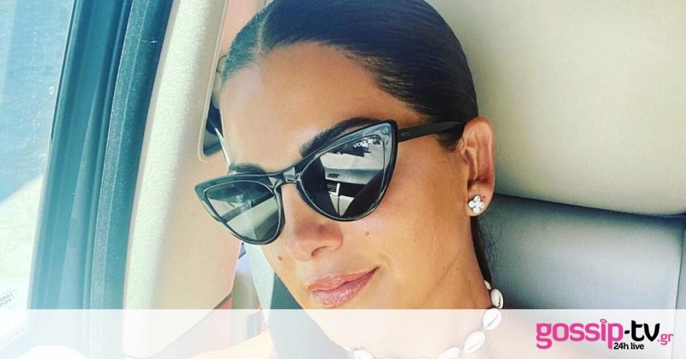 Σταματίνα Τσιμτσιλή: Η καλοκαιρινή φώτο με τον Θέμη Σοφό και τα 3 τους παιδιά